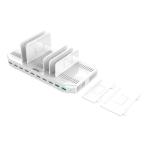 96W 10-Port USB Smart Charging Station