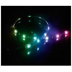 Akasa VegasMB Magnetisk LED-ljusslinga, 10x Magneter, 15x LED, 50cm, A