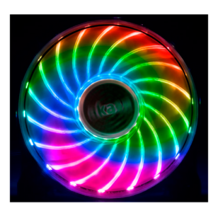 Akasa 12cm RGB LED Fan,Vegas X7,Asus Aura,MSI mystic Light Sync cert