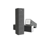 AM Blast, Allt-i-ett skärmrengöring, 105 ml, mikrofiberduk, grå