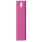 AM Mist, Allt-i-ett skärmtvätt, 10 ml, mikrofiberduk, kompakt, rosa