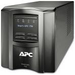 APC Smart-UPS 750, 230V, 700 VA / 500 W, 6 uttag