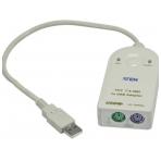 ATEN, kopplar PS/2 mus och tangentbord mot USB-port