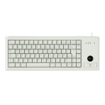 Cherry Compact-Keyboard , trackball, Ty layout, PS2, 1,8m kabel, grå