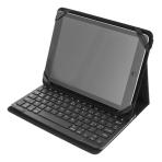 """DELTACO Fodral och Bluetooth tangentbord för 10"""" surfplattor, svart"""