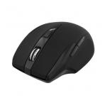 DELTACO trådlös optisk mus, 6 knappar, 1600 dpi, USB, svart