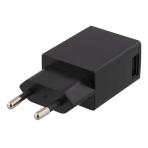 DELTACO Väggladdare 100-240V till 5V USB, 1A, 1xUSB-port, sv