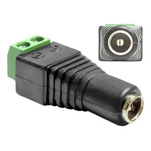 Delock Adapter DC 5,5 x 2,1 mm Buchse > Terminalblock 2 Pin