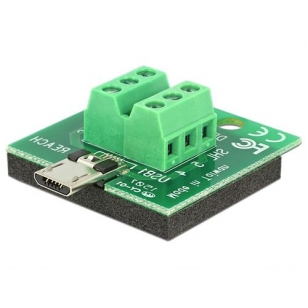 DeLOCK USB Typ Micro-B terminalblocksadapter, Typ Micro-B hane