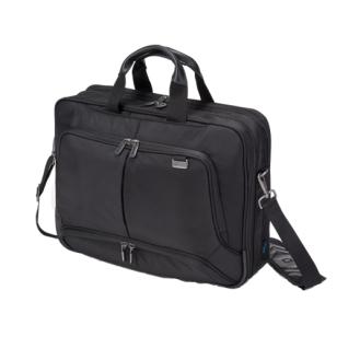 DICOTA Top Traveller PRO resväska, 12-14 tum, låsbar, EVA, svart