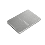 Freecom mHDD 1TB External Hard Drive, 5 Gbps, USB 3.0, Silver