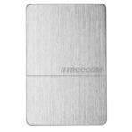 Freecom Mobile 1TB External Hard Drive, 5 Gbps, USB 3.0, Silver