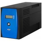 FSP EP1.5K, UPS, 1500VA 900W, USB/RJ11/RS232, svart/blå,surge protect