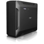 FSP NANO-UPS, 800VA, 480W, 2 uttag(2xCEE 7/4), svart