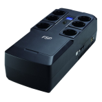 FSP NanoFit 800 UPS&Surge Protector 800VA/450W 6xSchuko,RJ45,display