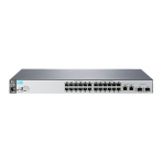 HP Switch 2530-24, 24-ports, 1Gbs, Twisted Pair, 1U