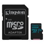 Kingston 128GB microSDXC Canvas Go 90R / 45W U3 UHS-I V30 + SD Adapter