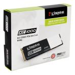 Kingston 240GB KC1000 PCIe Gen3 x 4, NVMe (M.2 2280)