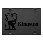 """Kingston 2.5 """"SSD A400, 480GB, SATA3 6Gb / s, black"""