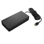Lenovo 170W AC Adapter, Slim Tip, ThinkPad, Black