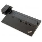 Lenovo ThinkPad docking station, AC 120/230 V, 2x DP, 1x HDMI, Black