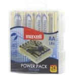 Maxell batteries, AA (LR6), Alkaline, 1.5V, 24-pack
