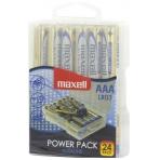 Maxell batteries, AAA (LR03), Alkaline, 1.5V, 24-pack