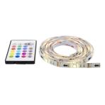 NHC LED-list, 4x50cm, 12 olika färger, RGB, fjärrkontroll, USB
