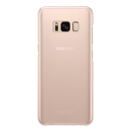 QG950CPE Clear Cover for Galaxy S8 Pink