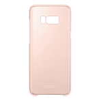 QG955CPE Clear Cover for Galaxy S8 Plus Pink