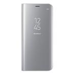 Samsung Galaxy S8 Clear view flip cover, fungerar som stativ, NFC, sil