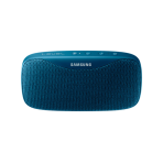Samsung Level Box Speaker, slim design, water resistant, powerbank, blue