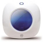 Smanos SS1005, siren för inomhusbruk Smanos larmsystem, vit/blå