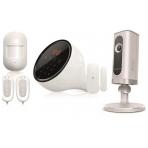 Smanos W100 + IP6, larmsystem inkl. nätverkskamera, vit