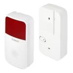 Technaxx Alarm Siren TX-88 för TX-84, Ljudintensitet är 85 dB, vit