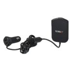 Technaxx Familje biladdare TE14, 4x USB-portar, 2,4A/port, svart
