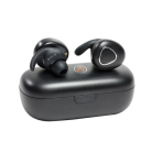 Technaxx MusicMan In-ear hörlurar, Bluetooth, IPX4, mikrofon, svart
