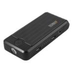 Technaxx nödstartare för bilbatteri, 10000 mAh power bank, 400A, svart