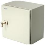 TOTEN, låsbart väggskåp med kabelgenomföring, 300x210x300mm, IP66