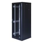 """TOTEN System G, 19"""" golvskåp, 32U, 600x600, perforerad dörr fram, perf"""