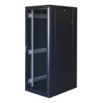 """TOTEN System G, 19"""" golvskåp, 32U, 600x800, perforerad dörr fram, perf"""