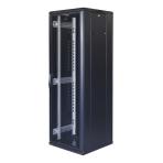 """TOTEN System G, 19"""" golvskåp, 37U, 600x600, perforerad dörr fram, perf"""