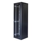 """TOTEN System G, 19"""" golvskåp, 42U, 600x600, perforerad dörr fram, perf"""