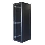 """TOTEN System G, 19"""" golvskåp, 42U, 600x800, perforerad dörr fram, perf"""