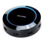 TP-Link USB-laddningsstation, 100-240V till 5V USB, 8A, 4xUSB A, svart