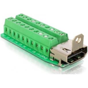 TRAG Adapter Terminalblock, HDMI - Bu