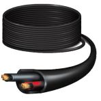 Ubiquiti PowerCable strömkabel, 304 m, 12 AWG, UV-resistent, svart
